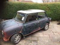 Classic Mini Copper 1.3 carb model
