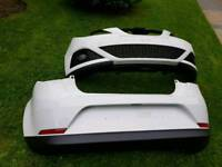 Seat ibiza genuine parts 2008 to 2012 mobile front and back bumper