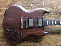 Gibson Sg 60's tribute mahogany - 2013 special edition w/gibson soft case