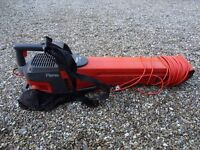 Flymo Electric Leaf Vacuum and Blower. Plus instruction book. £15