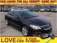 2012 Volkswagen CC Highline * LEATHER * POWER ROOF * SPORT SEATS