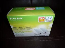 TP-LINK Powerline double internet kit.