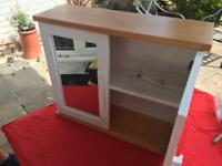 White pine cabinet