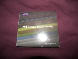 Pro Tools 8 , Music Production , Recording , Editing and Mixing Software for Digidesigh and AVID .