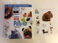 The secret life of pets Blu Ray & dvd