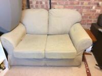 Cream sofa good condition
