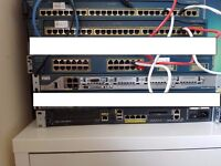 Cisco CCNA / CCNP Lab Equipment & Books (2950, 3550, 2800)