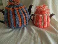 (urgent sale) 80 HANDKNITTED TEA COSY'S (OFFER)