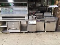 HENNY PENNY HCW5 FAST FOOD FRIED CHICKEN DISPLAY HOT FOOD WARMER CATERING COMMERCIAL KITCHEN BAR