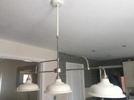 Next Oxford 3 Light Linear Pendant