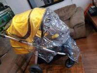 Mamas And Papas Armadillo XT Travel System / Pram / Pushchair Yellow