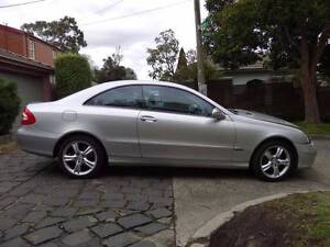 Accident but NOT WRITE-OFF, Mercedes-Benz CLK320 Coupe Avantgarde Hawthorn East Boroondara Area Preview