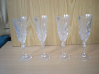 Boxed Set of 4 La Rochelle Champagne Flutes