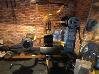 Powertec gym workbench multi system gym
