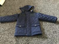 M&S boys quilted jacket, age 2-3