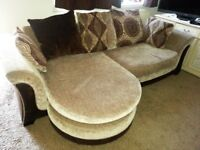 LARGE DFS LEFT OR RIGHT HANDED CORNER SOFA INCLUDES DELIVERY.