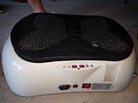 Portable flabelos vibrating plate.