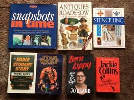 50p each .... hardback books .... 50p each