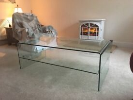 Glass Coffee Table 120cm x 70cm Tempered Glass
