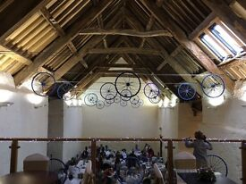 Bike Wheels - Decoration / Wedding