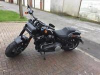 Harley Davidson 2018 fat bob