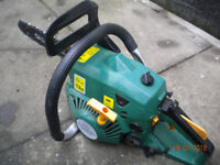 Chainsaw - petrol oil mix - working order - £49