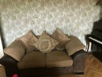 2 seater Sofa, Like New, Neutral Colour