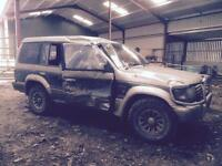 Pajero for spares