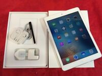 Apple iPad Air 32gb, White, WiFi + Cellular, Unlocked, +WARRANTY, NO OFFERS
