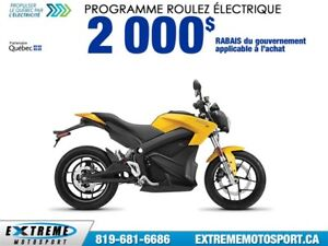 2017 Zero Motorcycles Zero S ZF13.0 + POWER TANK  69,23$/SEMAINE