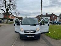 Vauxall vivaro cdti2700 2L E/S 114bhp 2013 plate 2 P/O £5,550.00 or ONO