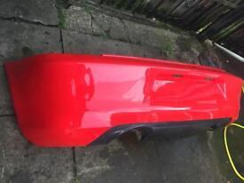 Seat leon cupra R back bumper in good condition