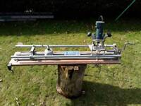 Trend router lathe