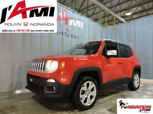 2015 Jeep Renegade Limited GPS CUIR