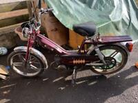 Vintage MBK moped