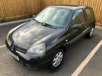 RENAULT CLIO 1.2 CAMPUS F/S/H LONG MOT FRESHLY SERVICED!