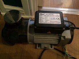 Jacuzzi Bath Pump/ AC Motor