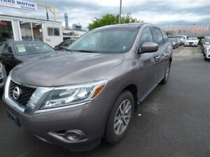 2013 Nissan Pathfinder SV 7 PASS & POWER GROUP PUSH START & KEYL
