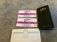 Goodwood festival of speed Saturday x 2 tickets
