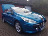 Peugeot 307 CC 2.0 16v Sport 2dr£2,985 p/x welcome FREE WARRANTY. NEW MOT