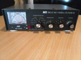 MFJ-949E MANUAL ANTENNA TUNER Radio amateur