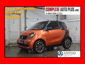 2016 Smart fortwo passion *Toit panoramique, Mags 2 tons, Blueto