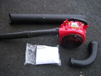 mitox blower vac new with collection bag & tubes