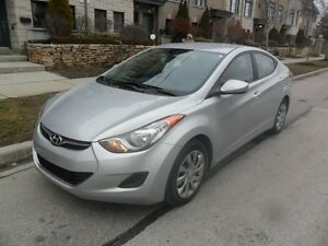 2012 Hyundai Elantra CERTIFIED, NO ACCIDENTS, LOW KMS, A1 COND