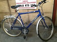 Gents Bike Raleigh Classic town and country bicycle Hybrid road cycle large frame