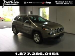 2017 Jeep Cherokee Sport 4x4 | CLOTH | COLD WEATHER GROUP |