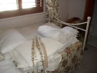 Sheets, duvets, pillows, pillow cases, mattress covers, sheets, duvet covers. White from £1 SN1
