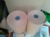 2 X Massive roll's of brown paper, backing or wrapping , packing