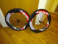 New and Unused Full Carbon wheelset - Clinicher - Campagnolo