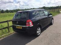 2010 Vauxhall Zafira 1,6 litre 5dr 7 seater 1 owner